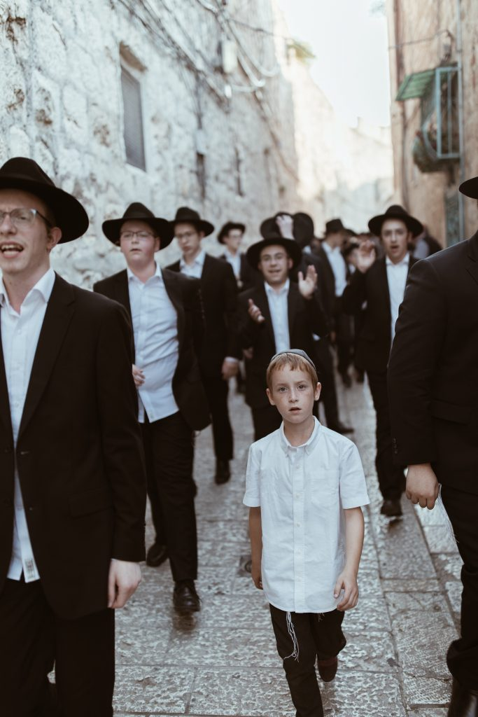 Judíos caminando